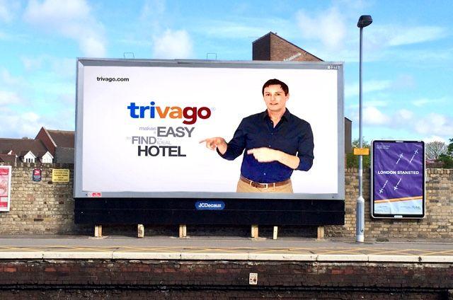 Railway Poster Billboard Trivagoaway Trivago Seanborg Trivago