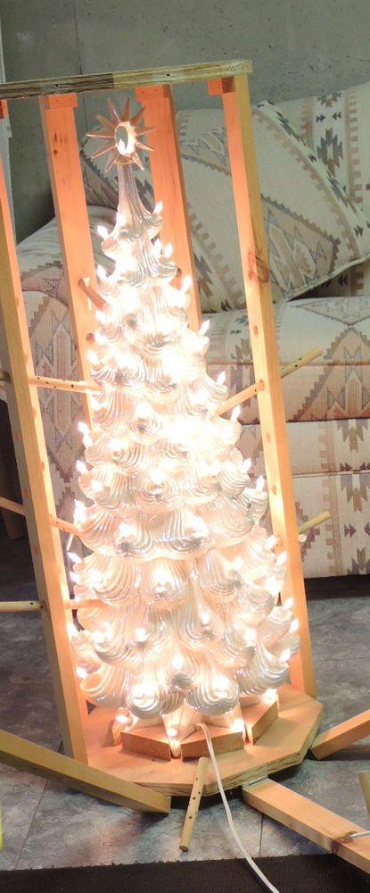 The Mega Tree Ceramic Christmas Tree White 35 Clear Light
