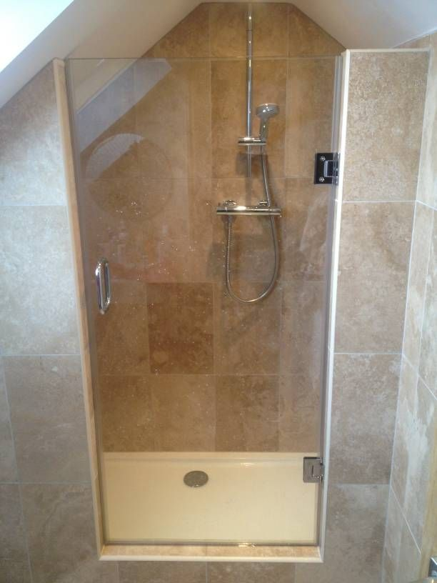 A made to measure shower can be manufactured to any size or shape ...