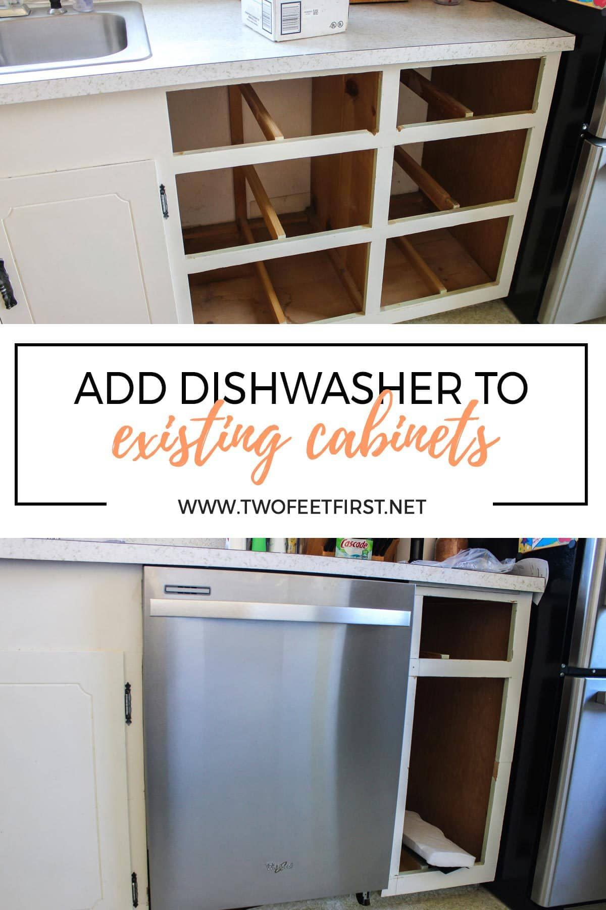 Adding A Dishwasher To Existing Cabinets Kitchen Remodel