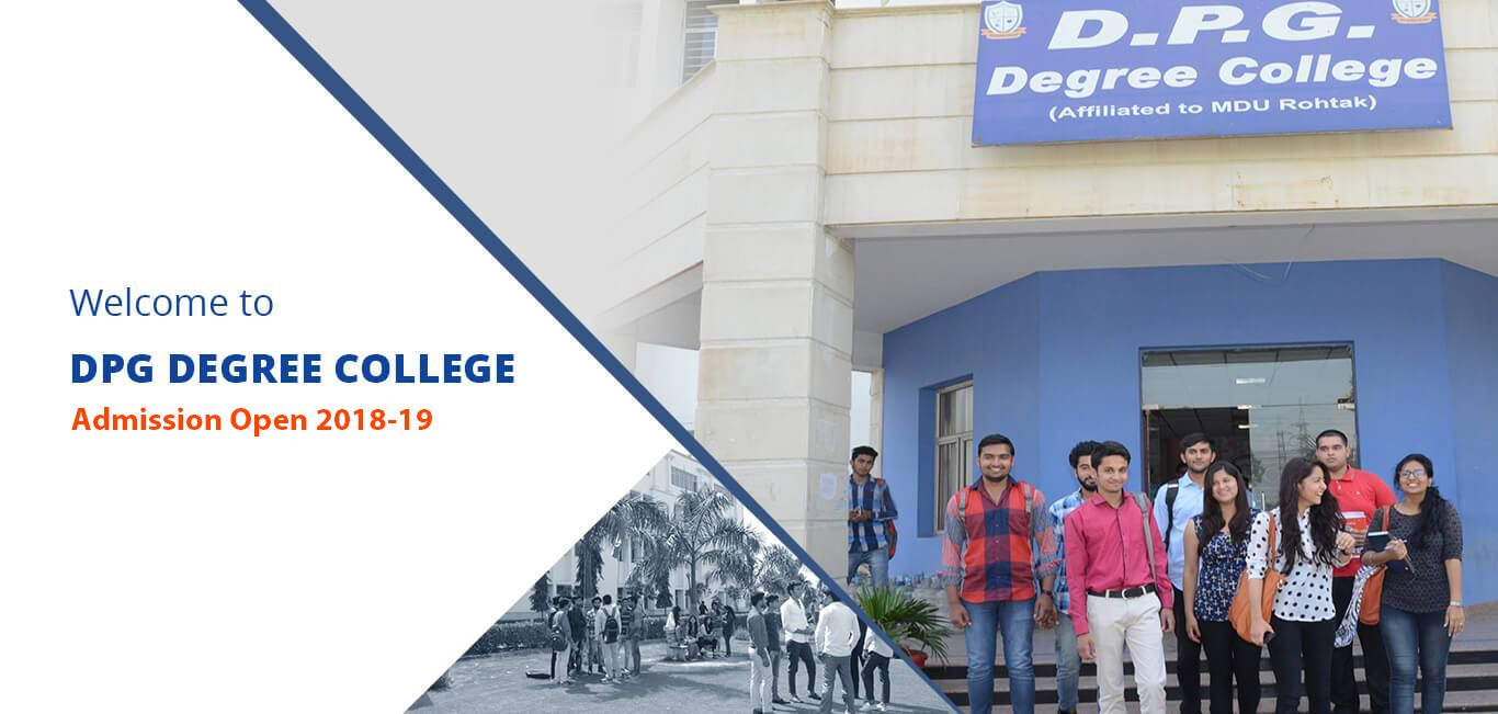 DPG Degree College is known as the best institute for
