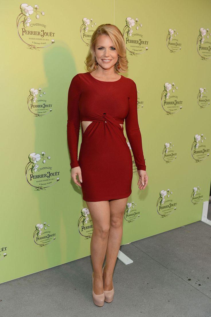 Red dress mature upskirt