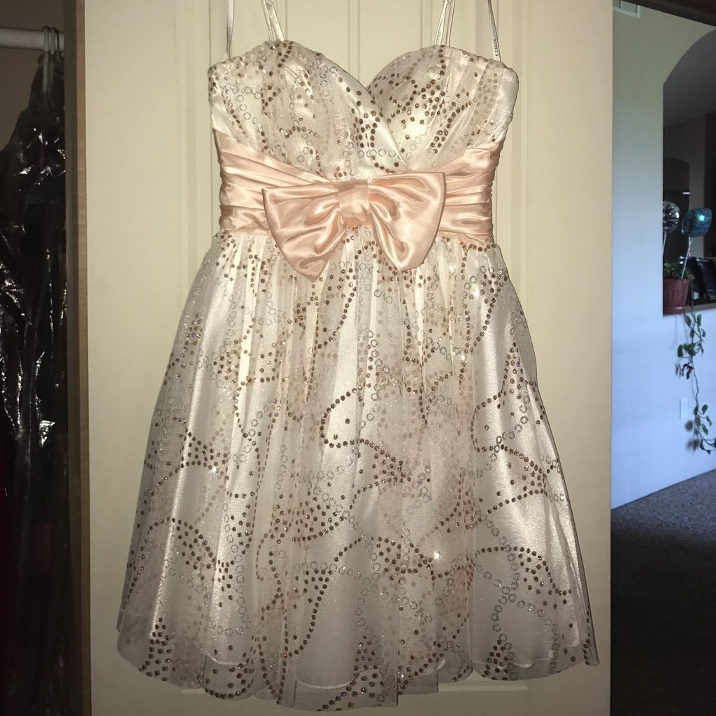 B darlin short prom dress with straps products