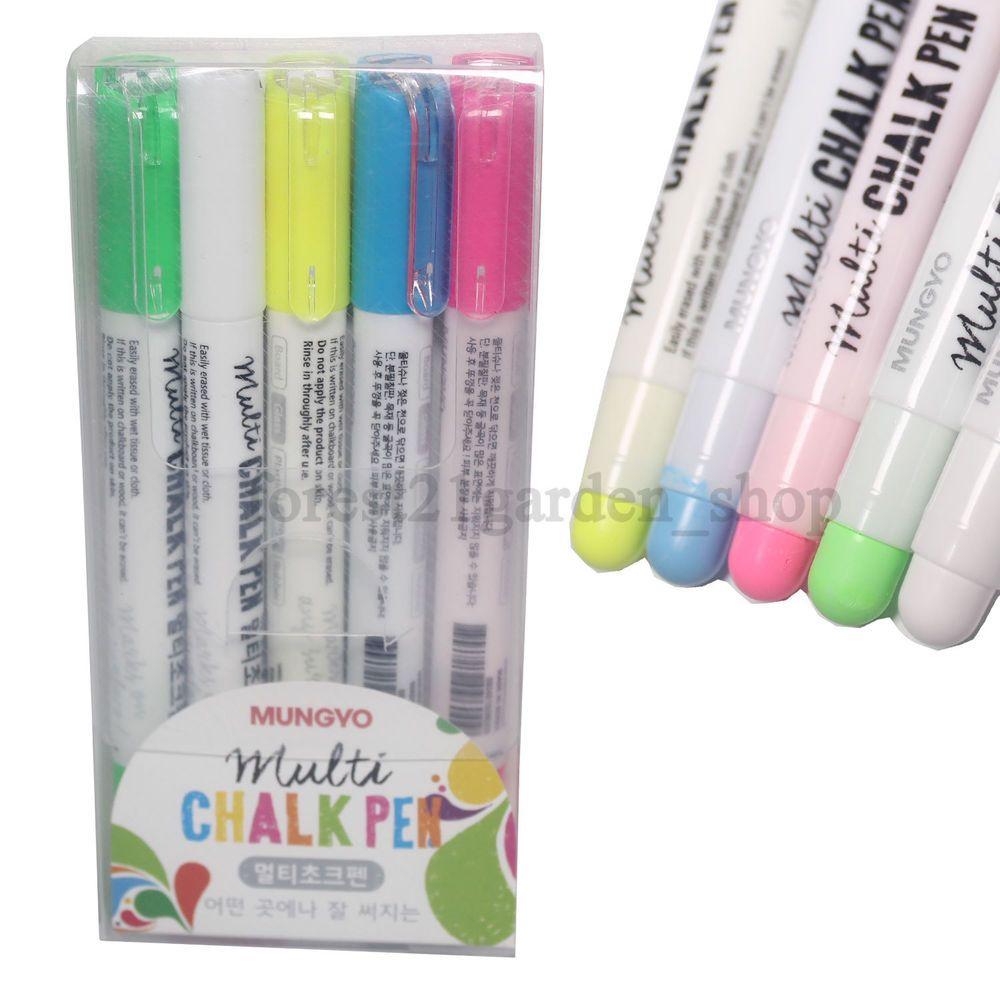 4 Pack Multi Coloured Permanent Markers Felt Tips Black Scrapbooking Pen UK POST