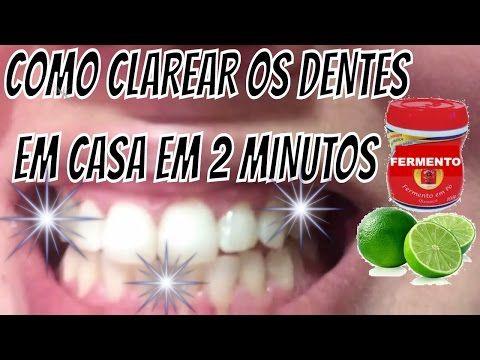 Como Clarear Os Dentes Em Casa Em 2 Minutos Youtube Medicina