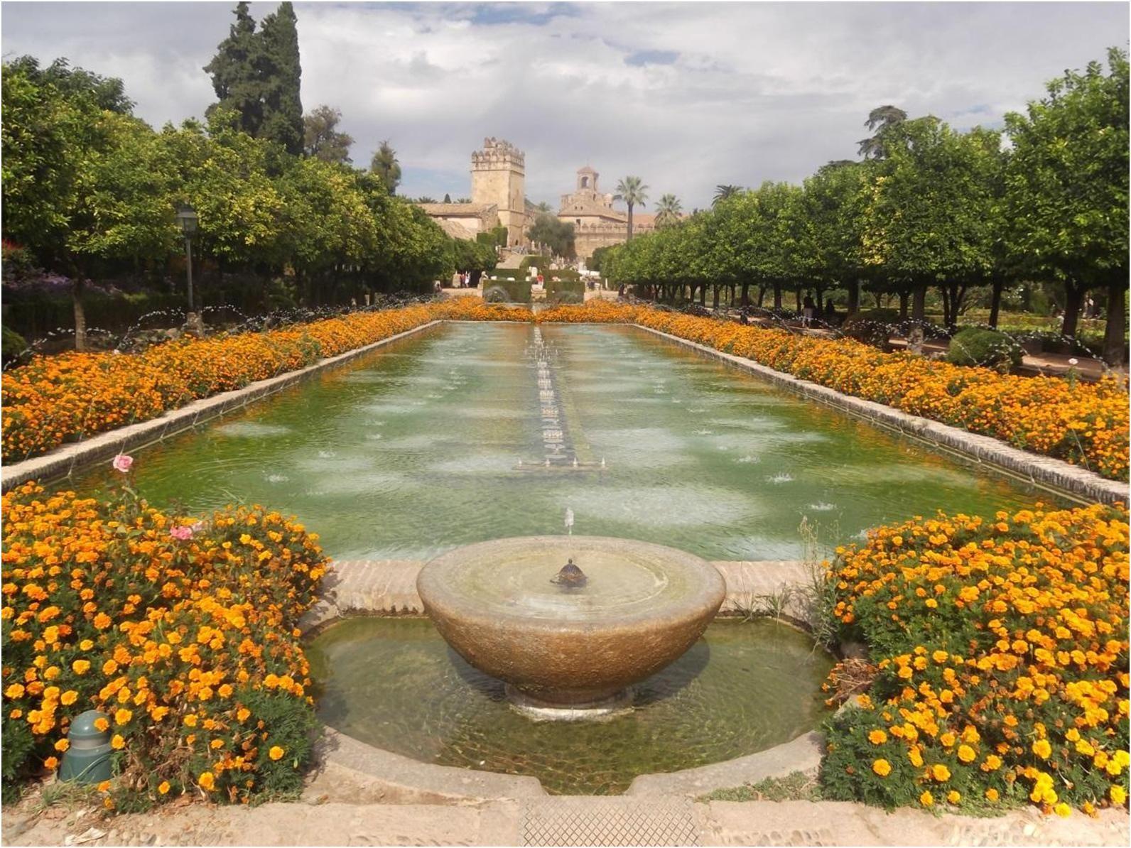 حديقة قصر قرطبة Spain Marbella Malaga Andalusia