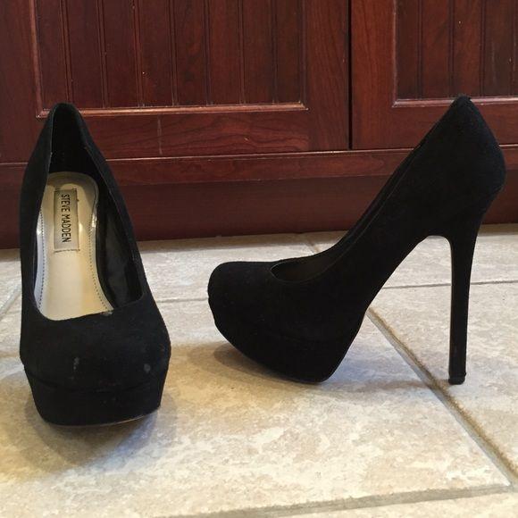 2d1a146ee3 Steve Madden Bevy Black Suede Pumps Size 7.5 Steve Madden Bevv black suede  pumps. Size 7.5. Lightly worn. Steve Madden Shoes Heels
