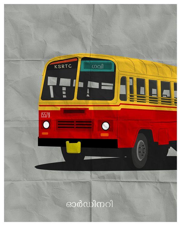 Minimal Malayalam movie posters on Behance   Malayalam ...