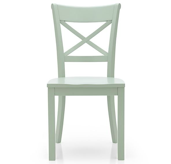 Vintner Mint Wood Dining Chair | Yellow dining chairs ...