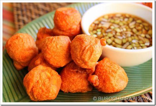 Kwek Kwek Tokneneng Filipino Orange Tinged Battered Chicken