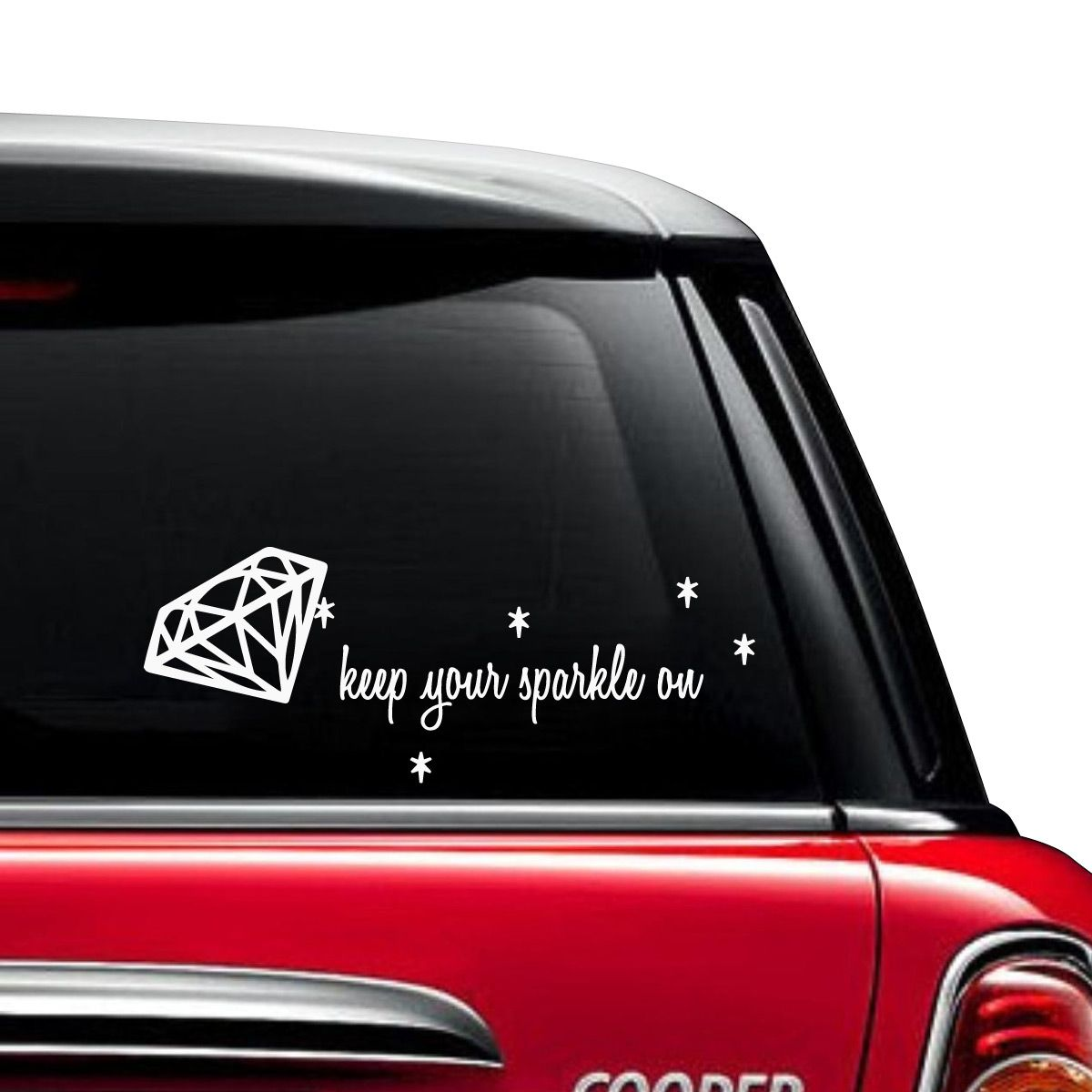 Keep Your Sparkle On Car Decal Girly Car Decals Car Decals Car [ 1200 x 1200 Pixel ]
