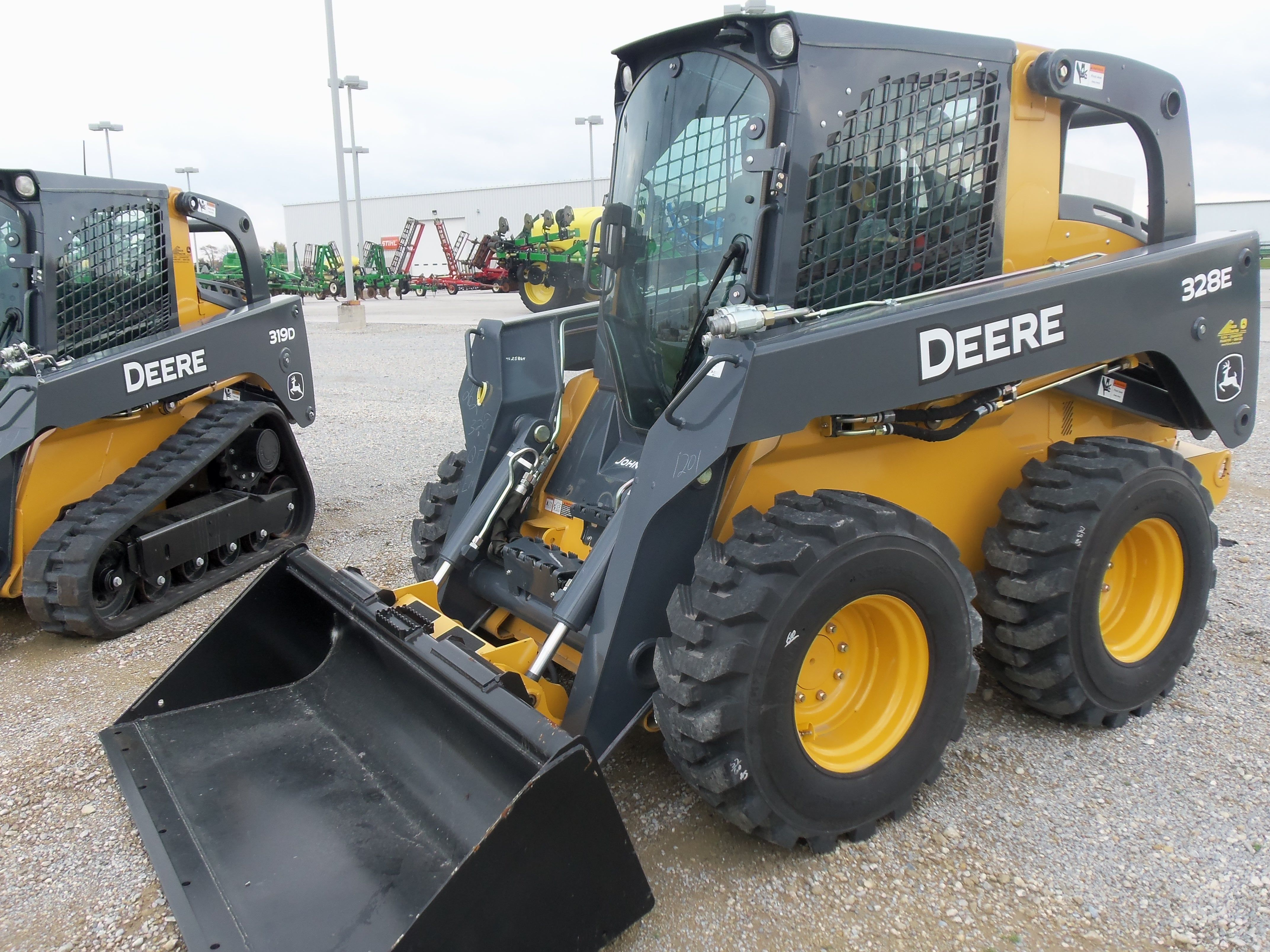 John Deere Skid Steer >> New John Deere 328e Skid Steer Loader Jd Construction Equipment
