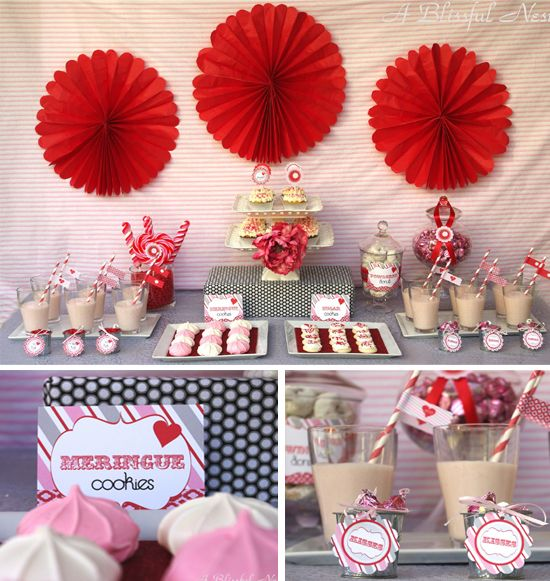 Valentines Day Party Decorations Printable Vintage Sweet Collection By .