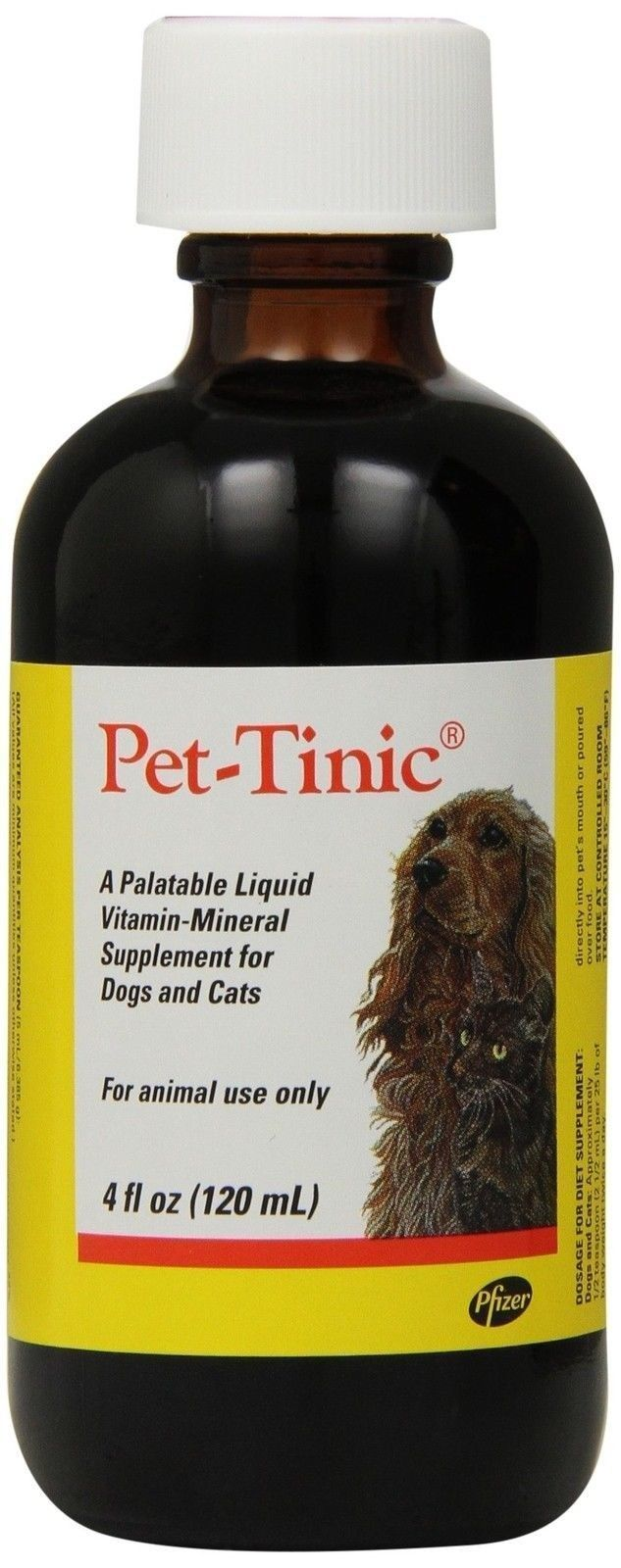 Pet Tinic Vitamin Mineral Supplement for Dogs and Cats 4