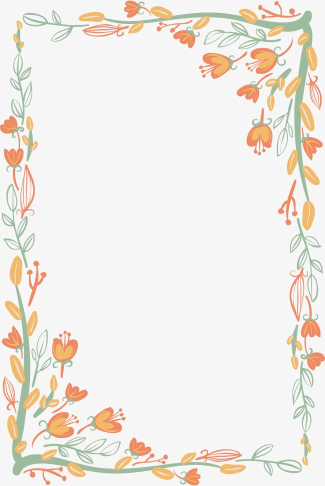 Trees, flowers, rattan vector case material Clipart Images