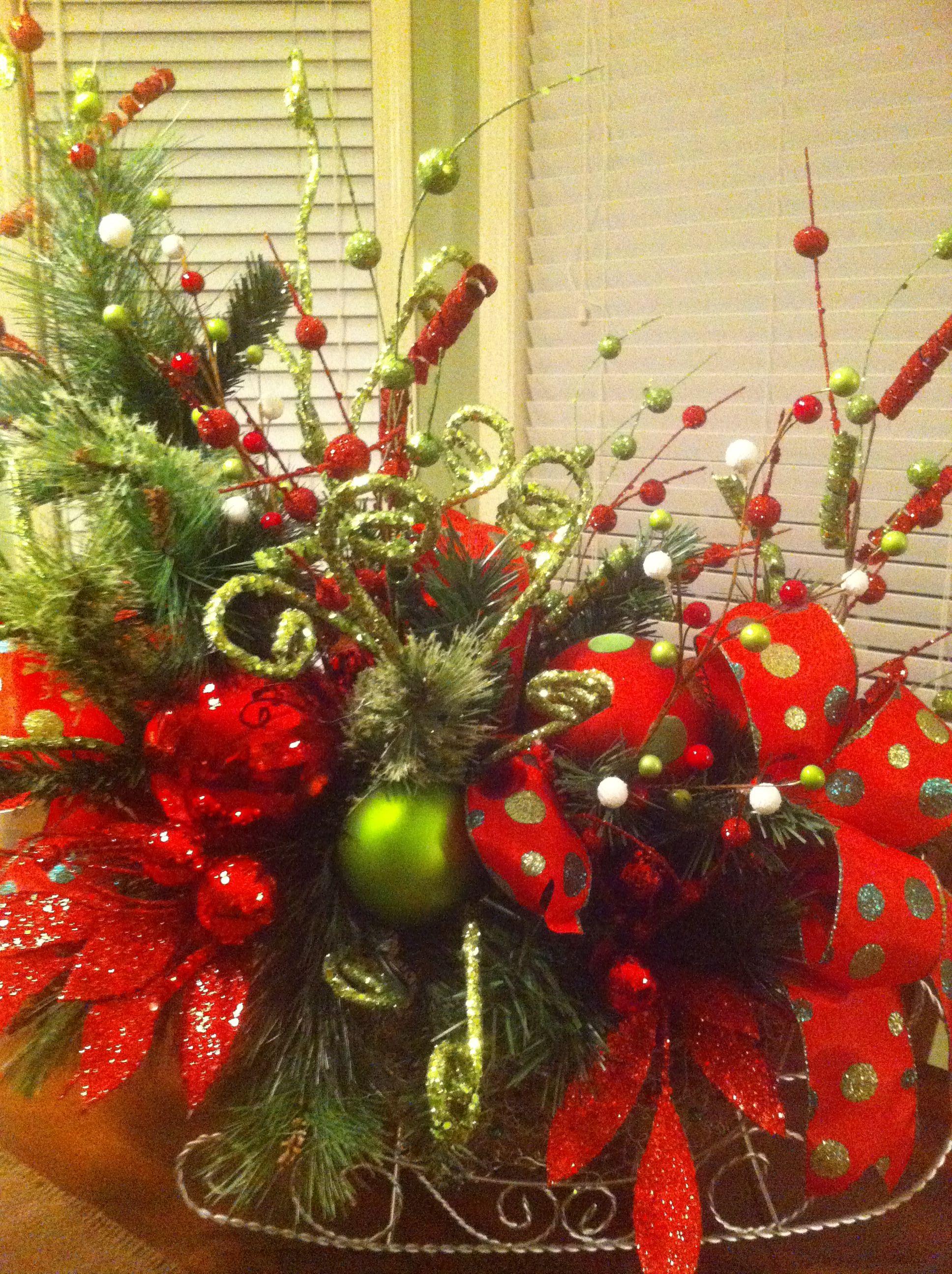 christmas centerpiece holidays pinterest christmas christmas rh pinterest com