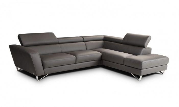 Nicoletti Italian Leather Sofa Contemporary Sectional Sofa