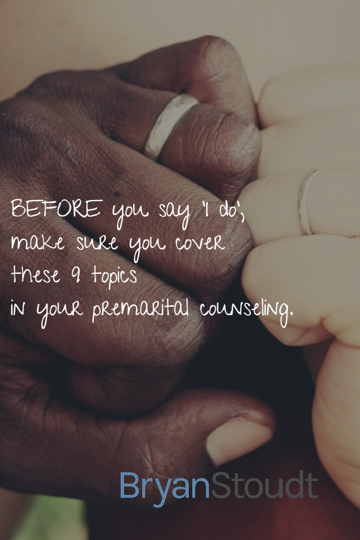 Premarital Counseling Topics
