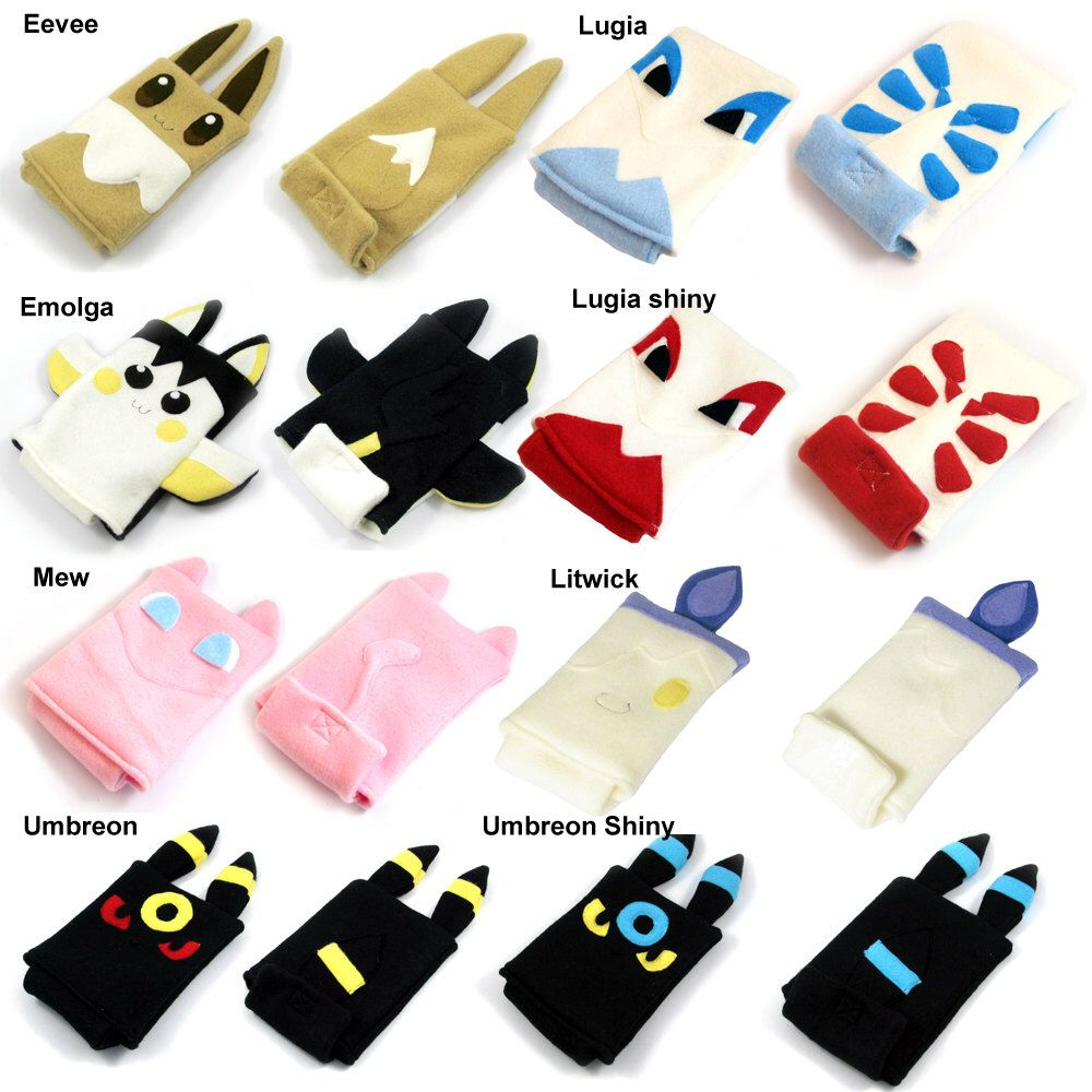 Pokemon Nintendo 3ds/Custom Size pouch fleece camera carrying case ...