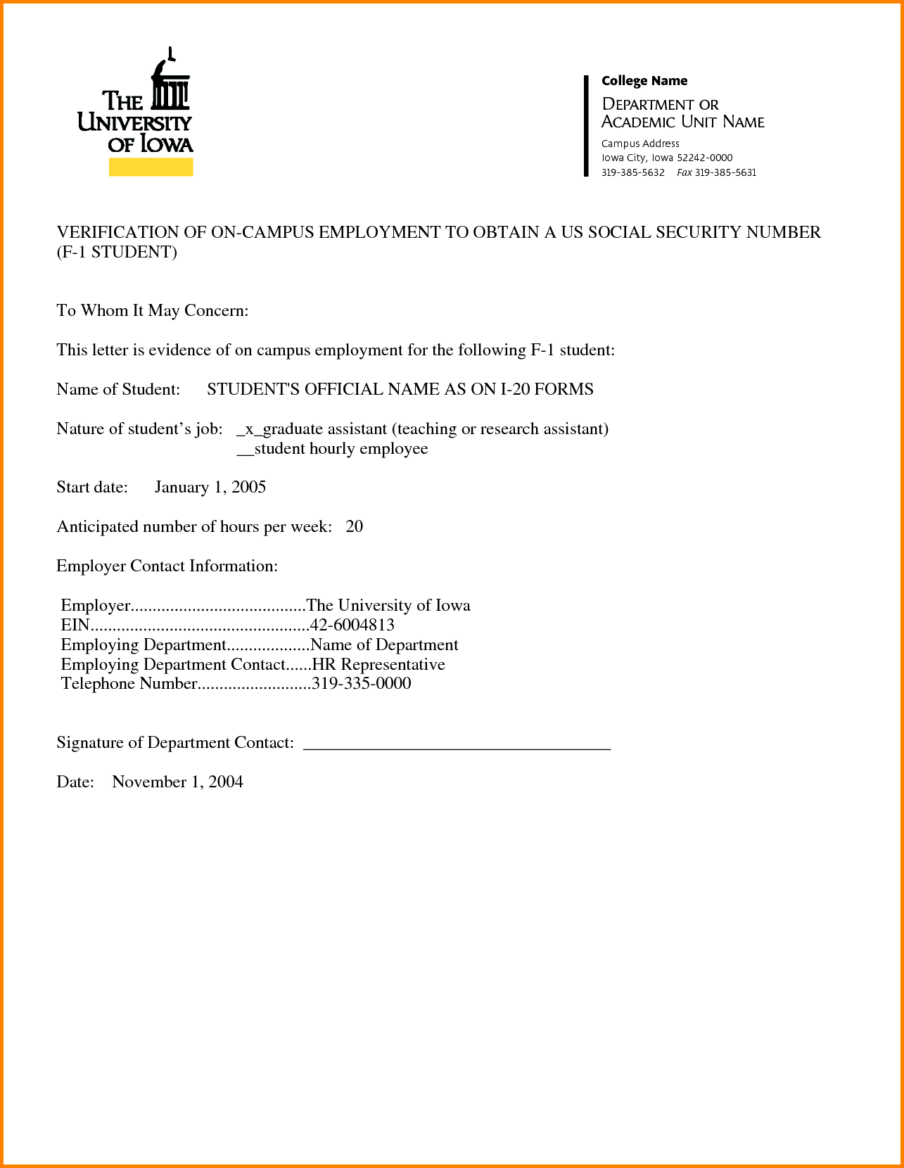 Sample Employment Verification Form Event Sign Sheet Template