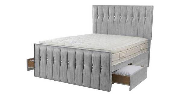Glitz Double Ft Drawer Bed DFS Ireland Bedrooms - Dfs bedroom furniture sets