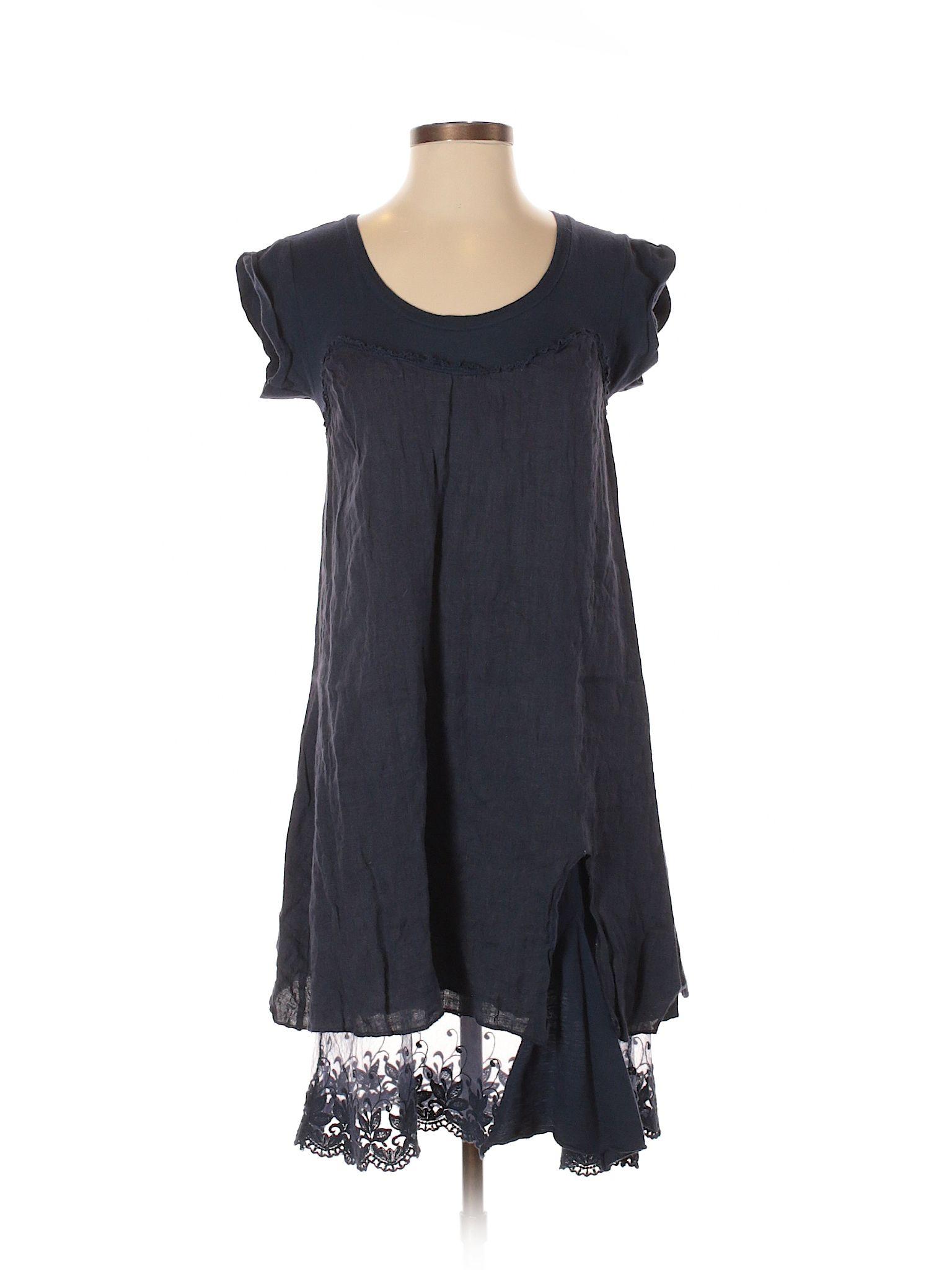 Piazza Roma Casual Dress Size 000 Dark Blue Womens Dresses