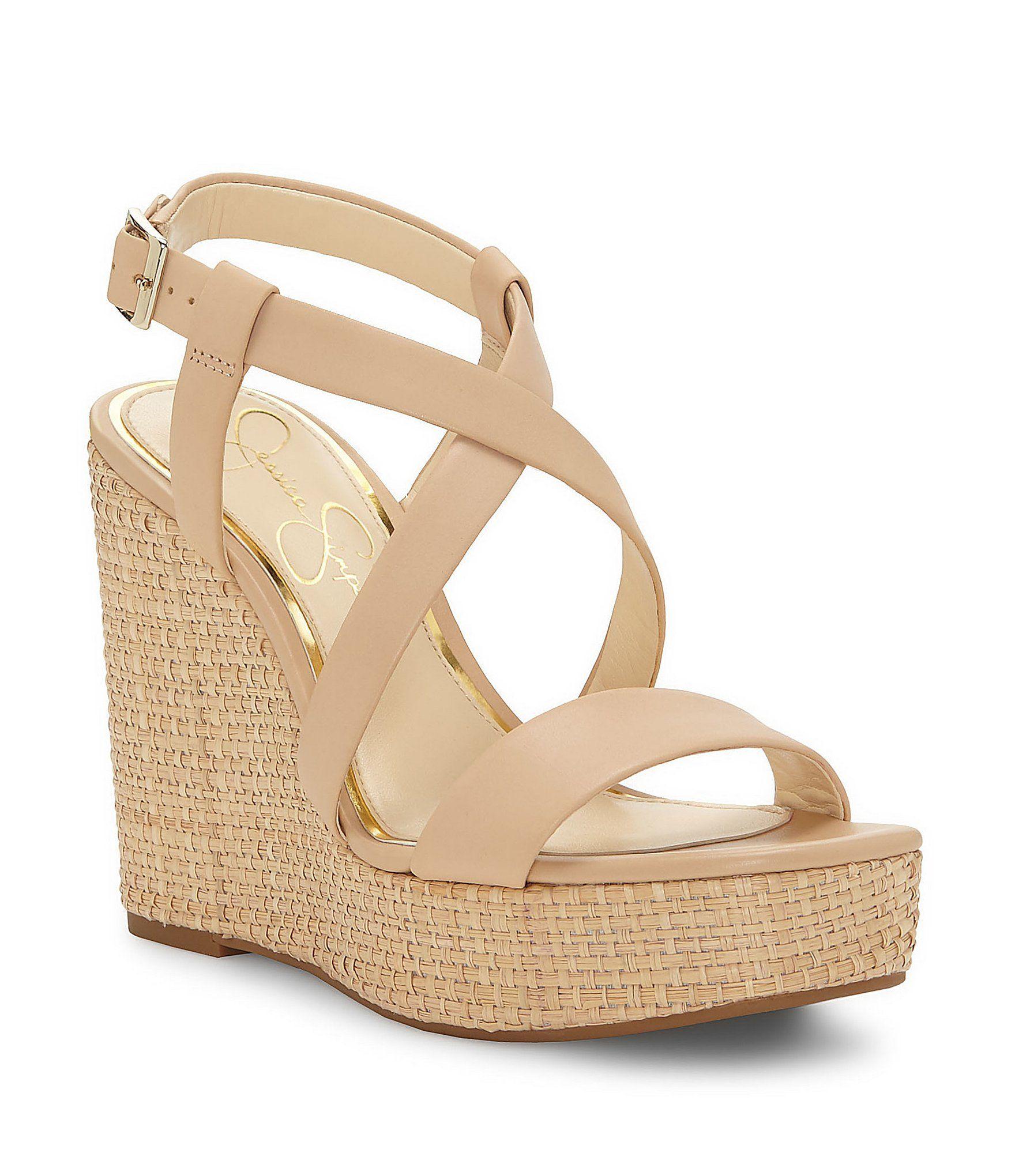 Jessica Simpson Salona Wedge Sandals gwESxco