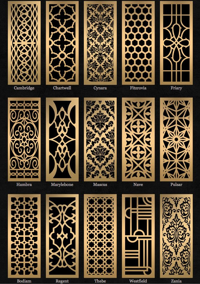 Decorative Wood Screens ~ Decorative paneling spaces traditional with