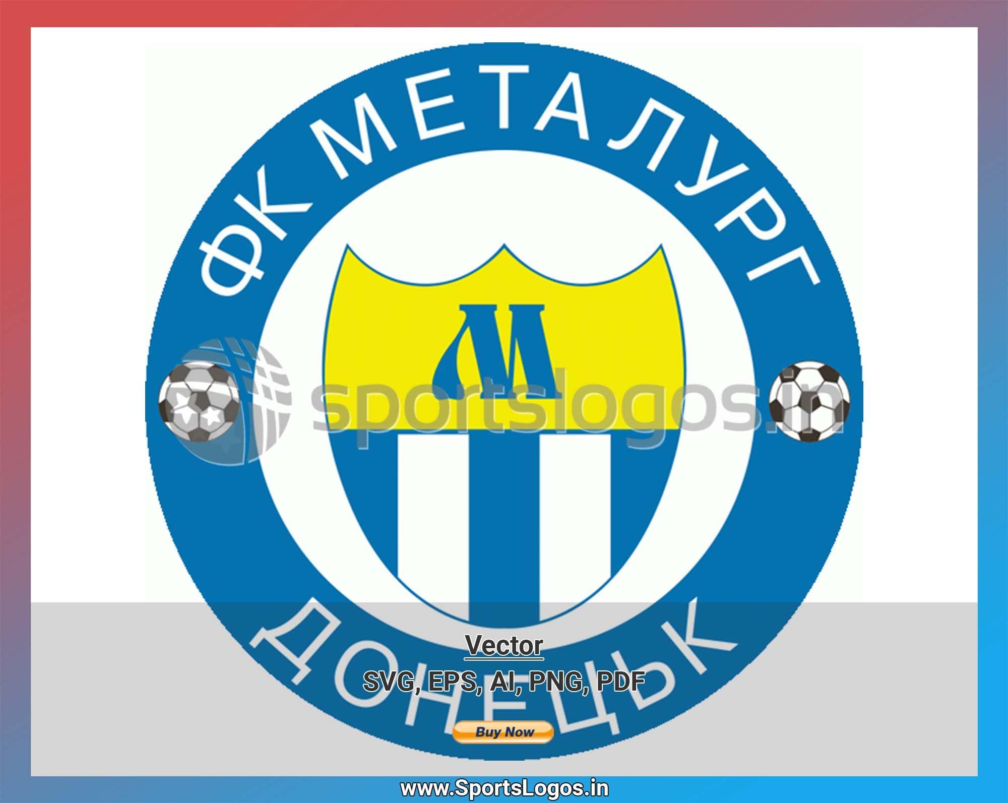 Metalurh Soccer Sports Vector SVG Logo in 5