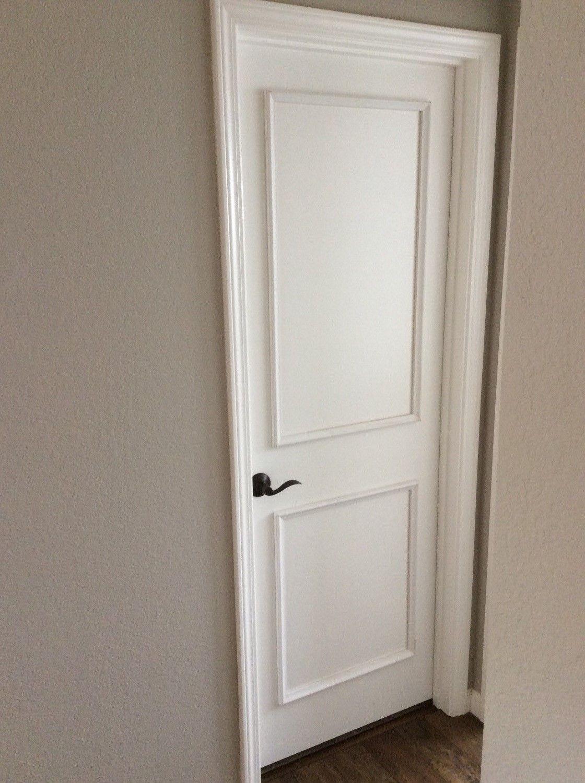 Two Piece Door Moulding Kit Luxe Architectural Door Molding