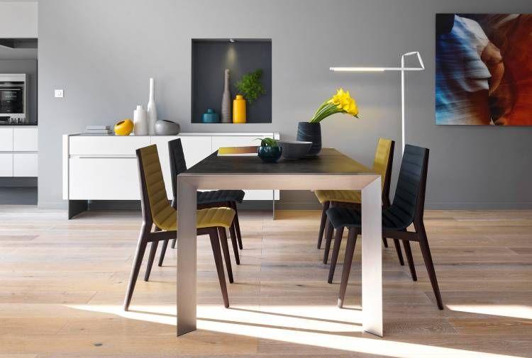 Table Rectangulaire Tables De Repas Meubles Gautier En 2020 Meubles Gautier Salle A Manger Design Salle A Manger Moderne