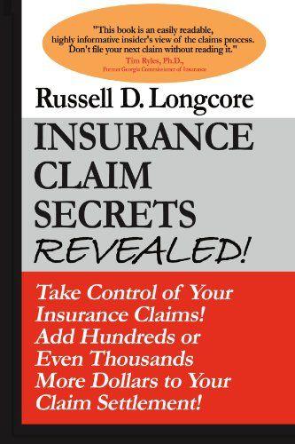 Epub Free Insurance Claim Secrets Revealed Pdf Download Free