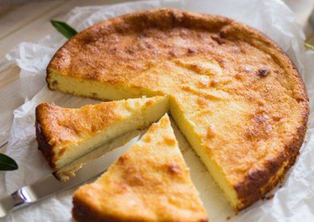 Gâteau Léger au Citron et au Skyr à 1 Sp #dessertlegerfacile