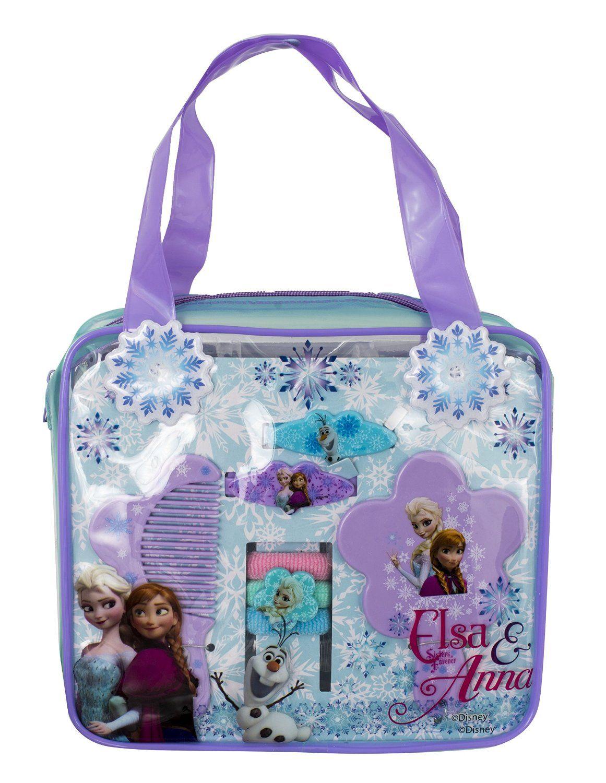 FROZEN ANA AND ELSA HAIR ACCESORY SET BAGS http://www.parentideal.co.uk/amazon---disneys-frozen.html