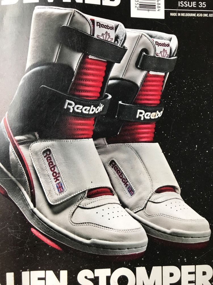 9208732161f73 Rare 426 pairs worldwide Alien Stompers hi-tops Reebok authentic ...