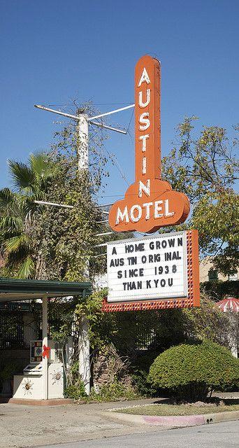 Austin Motel Austin Tx Austin Austin Motel Texas Places