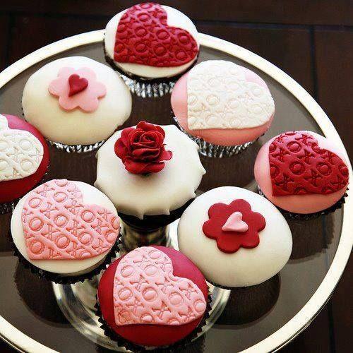35 Mejores Imágenes De Cupcakes Para 14 De Febrero