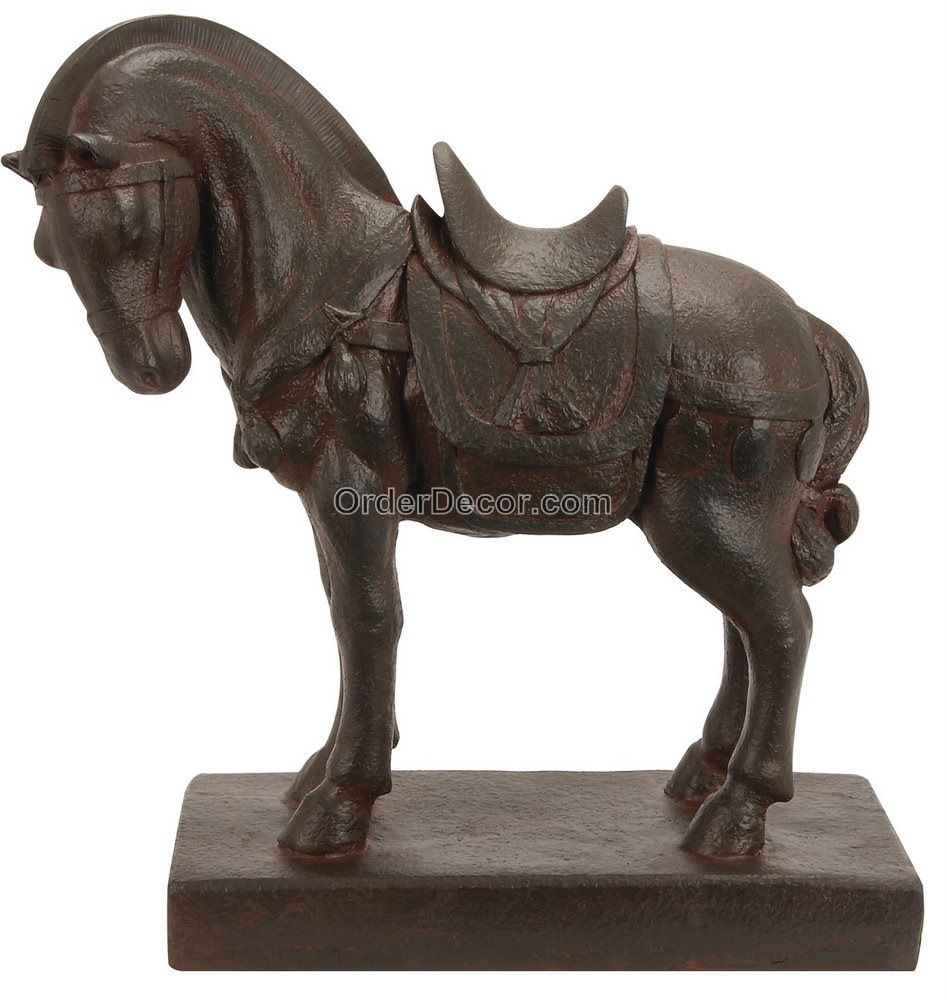 Details About 21 Quot Brown Tang Horse Statue Chinese Dynasty