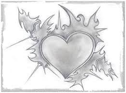Resultado De Imagen Para Corazones A Lapiz Corazones Para Dibujar Dibujos De Corazones Corazones