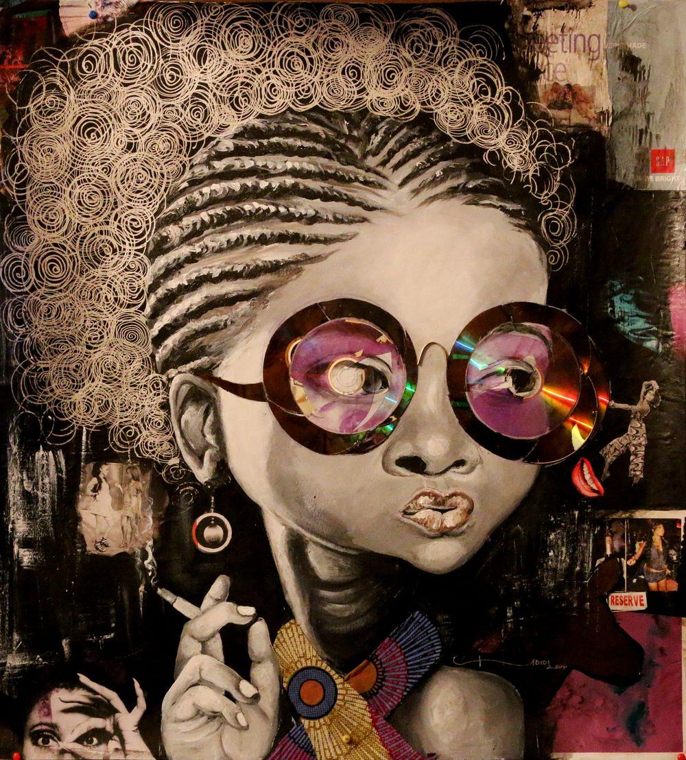 Art Nigerian Artist Ndidi Emefiele Black Women Art Afro Art Intense Art