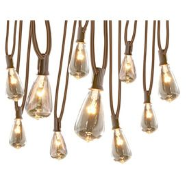allen + roth White Plug-in Bulbs String Lights at Loweu0027s. This Edison style string light is wet rated for indoor or outdoor use. Ideal for use on your patio ...  sc 1 st  Pinterest & Allen Roth 13-ft Clear Indoor/Outdoor C7 Plug-In Edison String ... azcodes.com