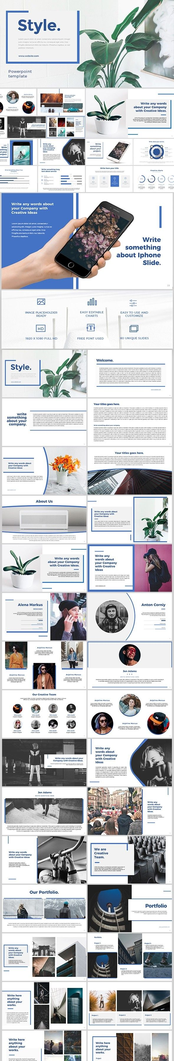 Business Business Powerpoint Clean Company Corporate Creative