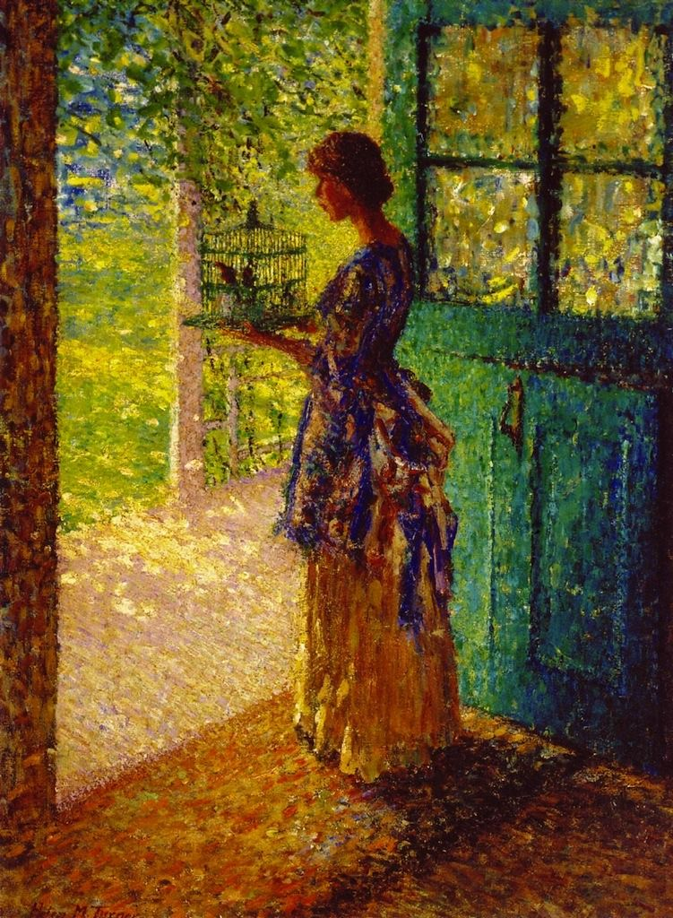 The Birdcage Helen M. Turner, described in bio as Impressionist and Realist