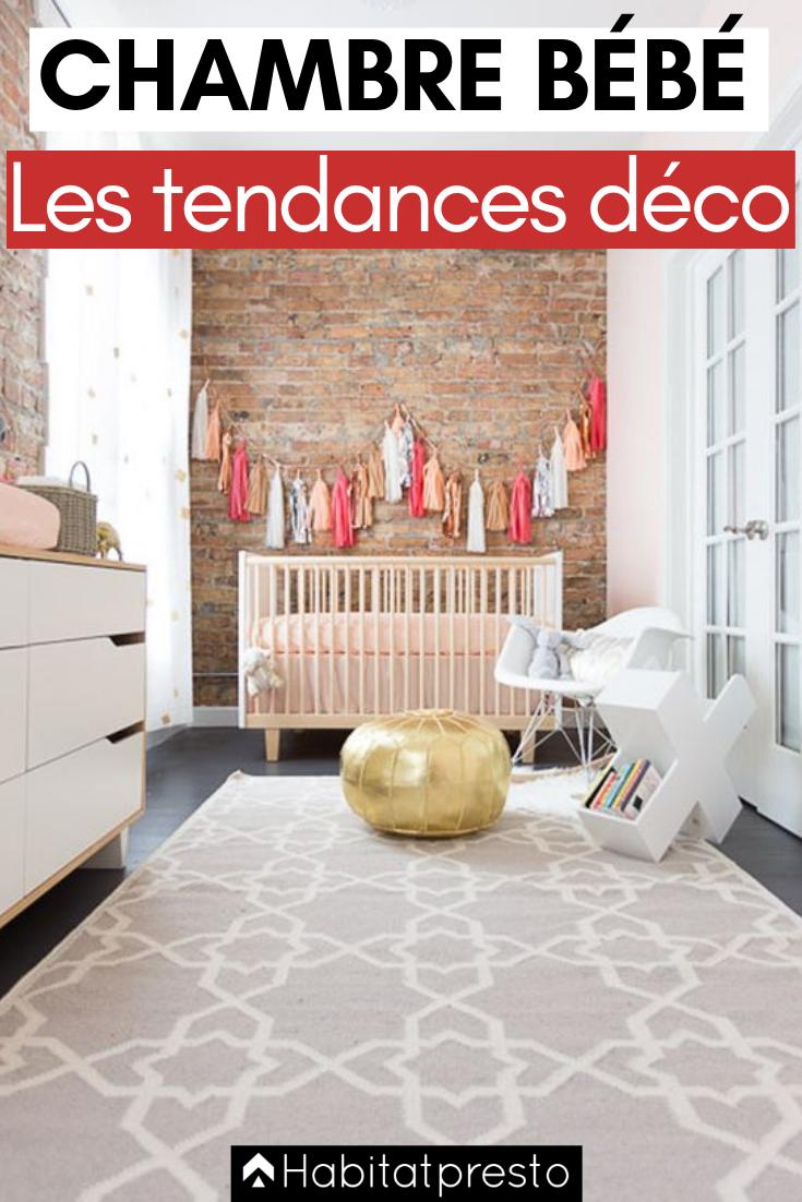 Chambre de bébé : 19 idées déco très tendances en 19  Décoration