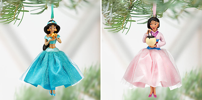More Disney Princess ornaments! I love both of these girls ...