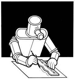 Chris Ware robot.