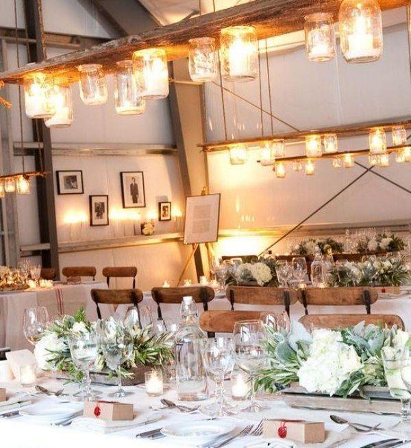 Winter Party-Tischdeko Idee | Dekoration Tisch | Pinterest ...