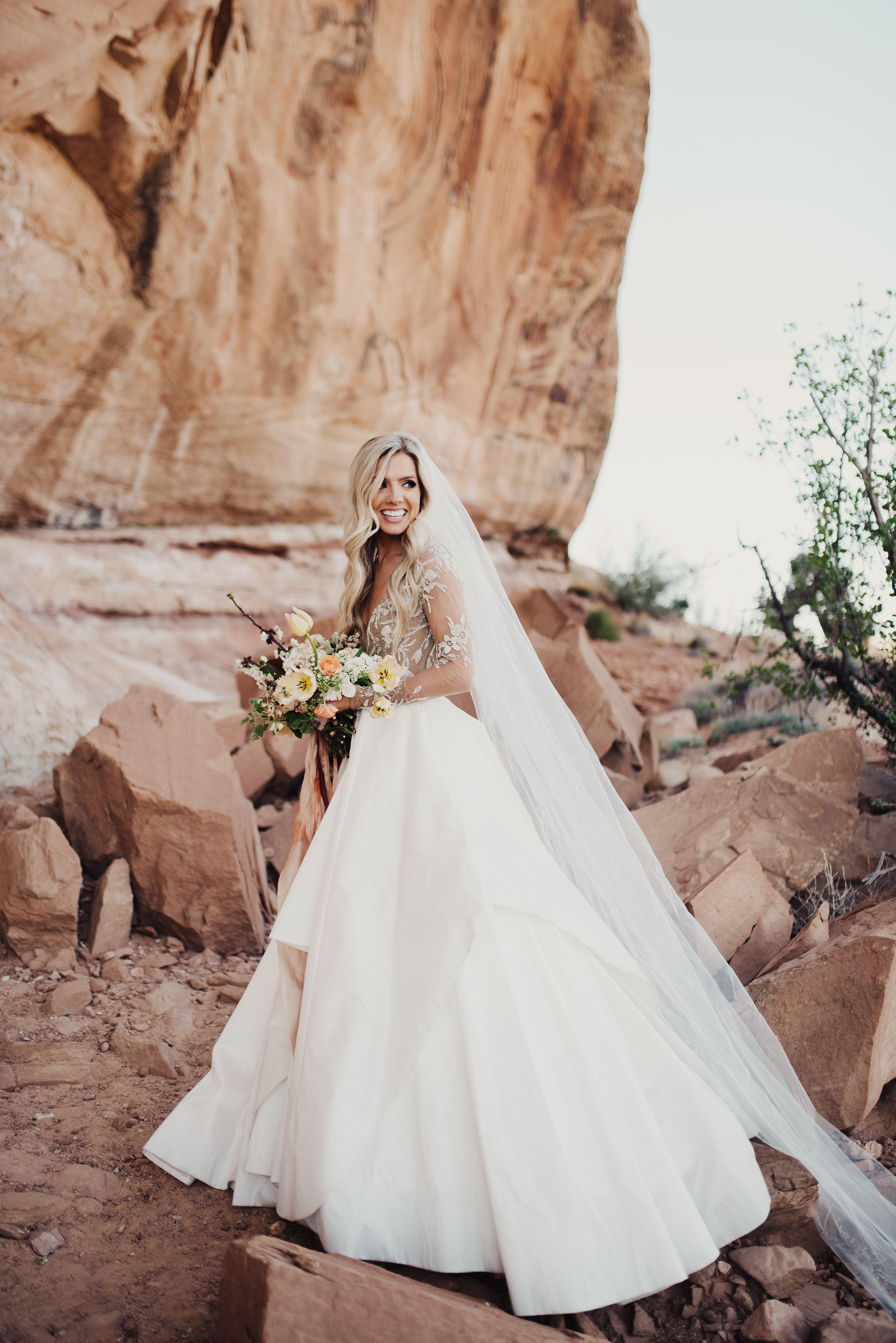 Hayley Paige Collins gown, photo by Eden Strader, fine art wedding ...