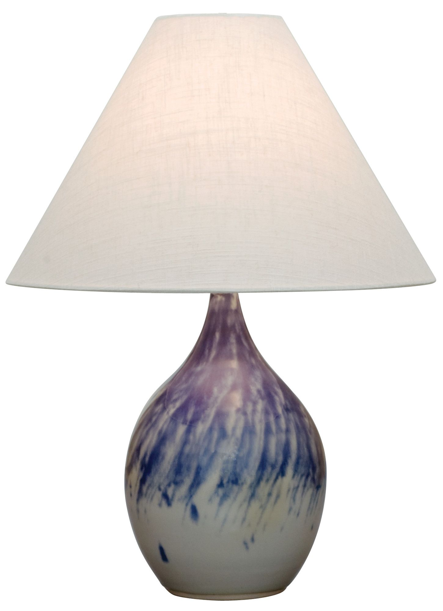 """Scatchard 22.5"""" H Table Lamp with Empire Shade Wayfair"""