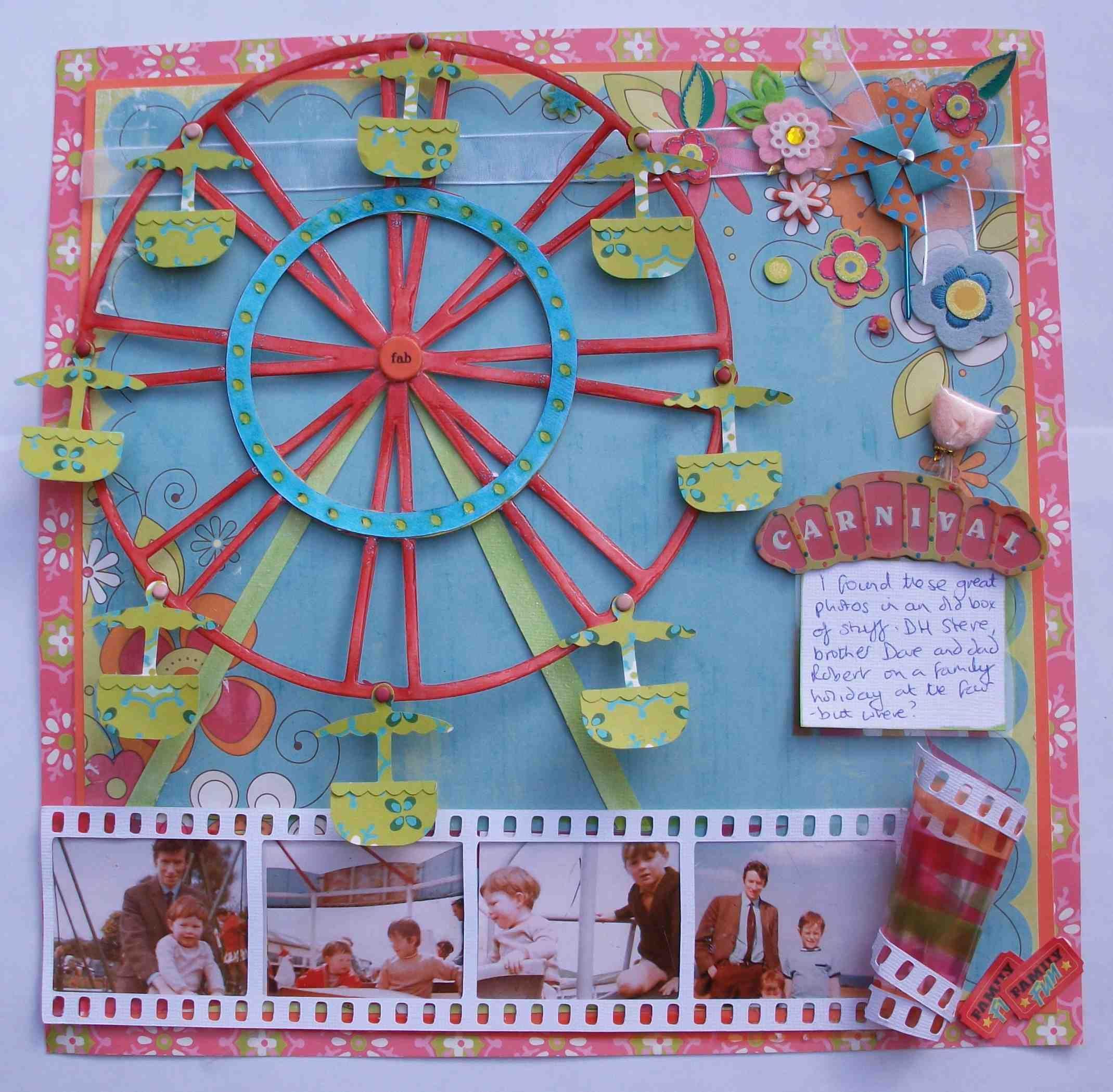 Jungle scrapbook ideas - Love This Ferris Wheel Carnival Mark 2 Scrapbook Com